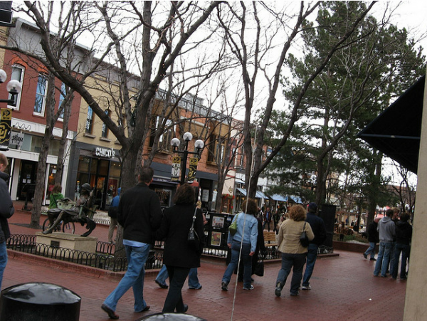 Pearl Street Boulder Colorado
