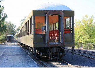 Rail Car Jamestown California