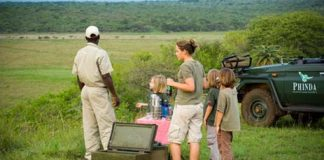 families holiday africa